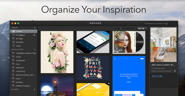 Inboard Organize Your Inspiration